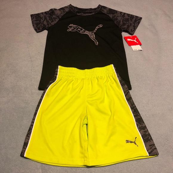 a7477f5fecc5 NWT🔥 Boys Puma 2-Piece Outfit